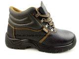 Chaussures de sûreté en cuir de vente chaudes d'unité centrale pour la protection de sûreté