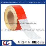 Band van de Voorzichtigheid van de Prijs van de fabriek de Rode en Witte Weerspiegelende (c3500-B (D))