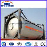 envase del tanque de los 20FT los 40FT T50/T75 LPG/LNG con ISO ASME BV Csc CCS