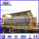 20FT het chemische Vloeibare Staal Hydrofludric Zure Hci van de Opslag ISO 32% Container van de Tank