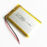 батарея полимера лития 3.7V 1500mAh 604060 для MP3 DVD