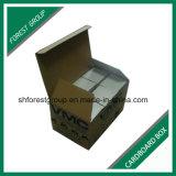 De bruine Vouwbare GolfDoos van het Karton voor de Verpakking van Delen