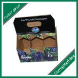 Farbenreicher Offsetdrucken-Pappbier-Kasten
