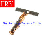 Conectores automotores masculinos del cableado de la aleación de cobre