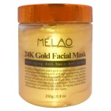 24 K Masque facial or Pore anti de vieillissement de traitement de l'Acné Blackhead Remover