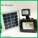 10W/Solar Panel/LEDの洪水ライトか赤外線センサースイッチ