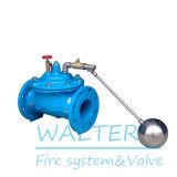 Valvola di galleggiante idraulica automatica a distanza di fornitura del serbatoio di acqua del ghisa di controllo 100X