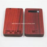 fonte de alimentação Bateria USB portátil móvel 8000mAh banco de madeira