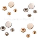 Platte Snap Button High-End Snap Metal Alloy Buttons, modeaccessoires, , gebruikt voor modekleding