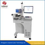 De Laser die van de vezel Machine voor het Systeem van de Vensters van de Steun van de Gravure van het Metaal ritsen