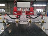 木製CNCのルーター機械を切り分ける4つの軸線の彫版
