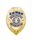 La coutume de l'épinglette souvenir personnalisé de l'insigne de l'épinglette de la police de l'insigne métallique