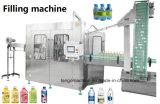 China Empaquetado automático de jugo de la botella de PET de agua líquida lavado Máquina de Llenado
