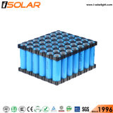 Automatique Batterie de fosfato de litio Fer Solaire Voie Lampadaire