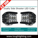 "12V/24V 4"" 60W Dually Shooter lateral del cubo LED luces para camiones offroad"