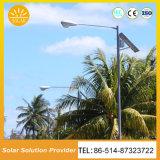Buen precio Solar LED de alto rendimiento de la luz de la calle