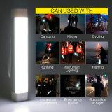 Linterna LED recargable el tubo de camping con urgentes Powerbank