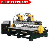 De nouveaux produits chinois Multi 8 broches type de machine à bois avec appareil rotatif