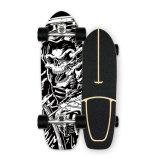 En Stock de arce de madera de arce canadiense personalizados 30/31/32 la tierra de skate Surf con CX4/CX7/S7 Carretilla
