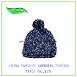 Sombrero promocional del Knit del invierno del color de la mezcla de la manera