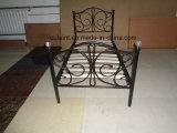 Crystal tablillas de madera metal cama individual (OC17131)
