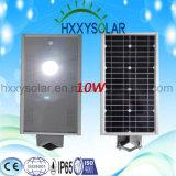 Lumière solaire facile 10W de la rue DEL d'installation