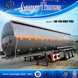 De chemische Vloeibare Semi Aanhangwagen van de Tanker van 3 Assen voor Verkoop (LAT9400GHY)