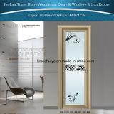 Aluminiumdusche-Tür mit doppelten Gläsern