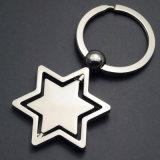 La promotion de la chaîne de clé en métal avec logo personnalisé (XS-001)