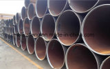 Tubo de acero inconsútil negro, tubo negro el 12m GR de ERW. B X42 X52