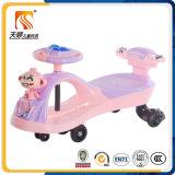 O melhor passeio de venda dos miúdos no carro da torção do brinquedo com três cores por atacado