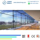 Effacer la glace claire Inférieure-e teintée pour les murs rideaux de façade