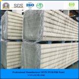ISO, SGS 100мм оцинкованной стали PIR Сэндвич панели для мяса/ овощей/фруктов