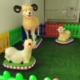 De nieuwste en Grappige Reeks van de Geit van het Thema van het Landbouwbedrijf van het Stuk speelgoed van de Apparatuur van de Speelplaats (MC003)