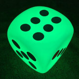 LED Lighting Dice Outdoor Furniture Nightclub Bar Decoração de jardim