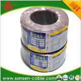 H03vvh2-F, fio elétrico, 300/300V, cabo flexível do retardador de Cu/PVC/PVC Flexibleflame
