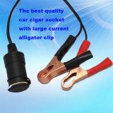 Alligator ClipおよびWaterproof Capの大きいPower Car Cigarette Lighter Socket