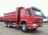 25t-30t Sinotruk HOWO A7 6X4 336HP 팁 주는 사람 트럭 10wheels