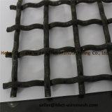 電流を通されたひだを付けられた正方形の編む金網