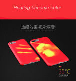 2017 Novo Soft TPU Shell Thermal Sensor Phone Case para iPhone 7 Plus Cor Changed Heat Induction Cases Voltar