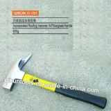 Включаемая ручка стеклоткани настилающ крышу молоток