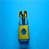 het u-Type van 2mm de Kleine Terminal van de Batterij van het Handvat van de Spade