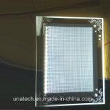 en caja de luz de escritorio de cristal acrílico Publicidad LED