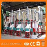 Филировальная машина маиса малого масштаба 30t/24h для делать Fufu Ugali