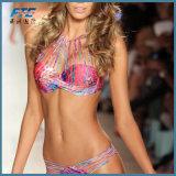 2017 bester verkaufenfrauen-reizvoller zweiteiliger Bikini-Badeanzug