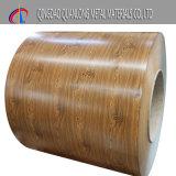 Bobine en acier pré-peintée en bois / Bobine en acier pré-peintée / Bobine en acier PPGI