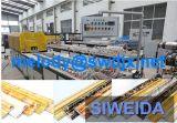 Perfil de PVC Máquina para porta de vidro e estrutura do teto