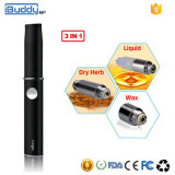 Commercio all'ingrosso elettronico della sigaretta dell'erba personalizzato mp di Ibuddy del vaporizzatore asciutto della cera