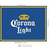 Прочный силиконовый чехол Non-Toxic горячей продаж ПВХ резиновые пиво бар коврики