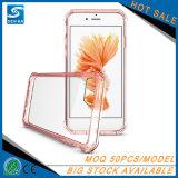 Tampa traseira de cristal da caixa híbrida Shockproof nova por atacado do telefone do PC de TPU para Samsung S8